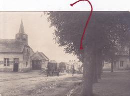 (08) - TERRON-sur-AISNE Dorfstrasse  Carte Photo Allemande - Rethel