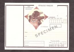 SPECIMEN - Mandat - Filigrane ITVF - Cours D'instruction - Cours D'Instruction