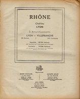 ANNUAIRE - 69 - Département Rhône - Année 1948 - édition Didot-Bottin - 512 Pages - Telefoonboeken