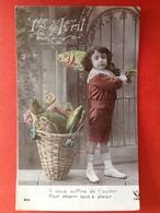 POISSON D'AVRIL - APRILVIS - IL VOUS SUFFIRE DE L'OUVRIR POUR OBTENIR TOUT A PLAISIR - MAND VOL VISSEN - CORBEILLE DE PO - 1er Avril - Poisson D'avril