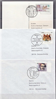 Germany 3 Used Covers From 1993 - [7] Federal Republic