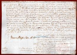 REPUBBLICA DI VENEZIA  30 Maggio 1738    MANOSCRITTO CON TIMBRO  A SECCO DELLA SERENISSIMA - Historische Dokumente