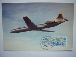 Avion / Airplane / AIR INTER / Caravelle / Photo Size 12,5X17,5cm - 1946-....: Modern Era