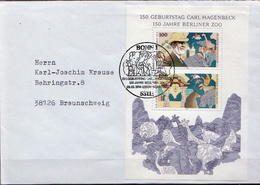 Postal History Cover: Germany SS On Cover - Stamps
