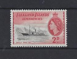 FALKLAND Is. DEPS...QUEEN ELIZABETH II.(1952-NOW)....2d....SG130...MH... - Falklandeilanden