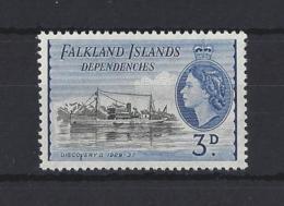 FALKLAND Is. DEPS...QUEEN ELIZABETH II.(1952-NOW)....3d....SGG31...MH... - Falklandeilanden