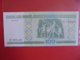 BELARUS 100 ROUBLES 2000 PEU CIRCULER/NEUF - Belarus