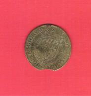 Jeton Royal Henri III Chambre Des Comptes Du Roi 1575 Laiton F1754 - 1574-1589 Henri III