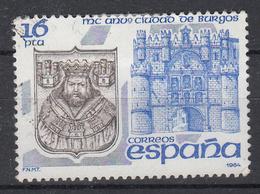 SPANJE - Michel - 1984 - Nr 2622 - Gest/Obl/Us - 1931-Aujourd'hui: II. République - ....Juan Carlos I