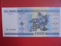 BELARUS 1000 ROUBLES 2000 PEU CIRCULER/NEUF - Belarus