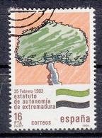 SPANJE - Michel - 1984 - Nr 2621 - Gest/Obl/Us - 1931-Aujourd'hui: II. République - ....Juan Carlos I
