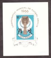 Roumanie - 1966 - BF 62 - Neuf * - Football - Blocks & Sheetlets