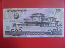 COREE(NORD) 500 WON 2007 PEU CIRCULER/NEUF - Korea (Nord-)