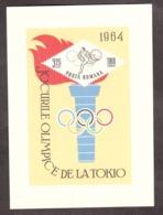 Roumanie - 1964 - BF 58 - Neuf * - JO Tokyo - Blocks & Sheetlets