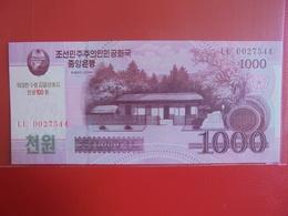 COREE(NORD) 1000 WON 2008 PEU CIRCULER/NEUF - Korea (Nord-)