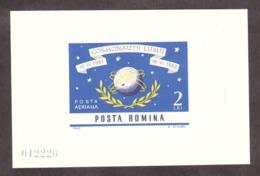 Roumanie - 1964 - BF 57 - Neuf * - Conquête De L'Espace - Blocks & Sheetlets