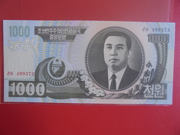 COREE(NORD) 1000 WON 2006 PEU CIRCULER/NEUF - Corée Du Nord
