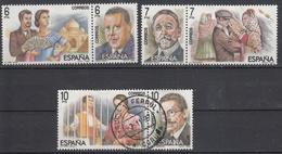 SPANJE - Michel - 1984 - Nr 2642/47  - Gest/Obl/Us + (*) - 1931-Aujourd'hui: II. République - ....Juan Carlos I