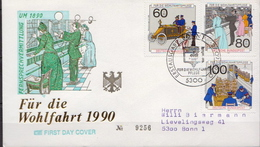 Germany Used FDC From 1990 - Post
