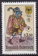 Austria/1967 - Stamp Day/Tag Der Briefmarke - 3.50 S + 80 Gr - MNH - 1945-.... 2. Republik