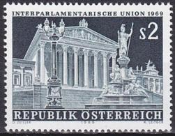Austria/1969 - Interparliamentary Meeting/Früjahrstagung Der Interparlamentarischen Union - 2 S - MNH - 1961-70 Unused Stamps