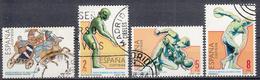 SPANJE - Michel - 1984 - Nr 2648/51  - Gest/Obl/Us - 1931-Aujourd'hui: II. République - ....Juan Carlos I