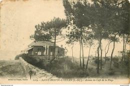 WW 44 SAINT-BREVIN-L'OCEAN. Avenue Du Café De La Plage 1915 - Saint-Brevin-l'Océan