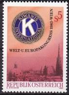 Austria/1983 - Kiwanis International - 5 S - MH - 1981-90 Unused Stamps