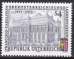 Austria/1983 - Upper Austrian Museum/Oberösterreichisches Landesmuseum - 4 S - MNH - 1945-.... 2ª República