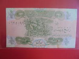 IRAQ 1/4 DINAR 1979 PEU CIRCULER/NEUF - Iraq