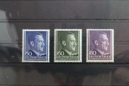 Generalgouvernement 110-112 ** Postfrisch #SM528 - Besetzungen 1938-45