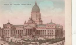 ***  Palacio Del Congreso Buenos Aires - Unused -TTB - Argentina