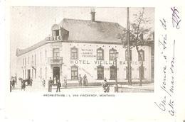 CP. De MONTAIGU - Hôtel Vieille Barrière Propriétaire L.Van Vinckeroy En 1902 - Scherpenheuvel-Zichem