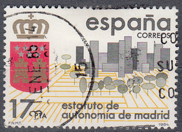 SPANJE - Michel - 1984 - Nr 2662 - Gest/Obl/Us - 1931-Aujourd'hui: II. République - ....Juan Carlos I