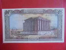 LIBAN 50 LIVRES 1983-88 PEU CIRCULER/NEUF - Libanon