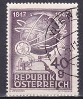 Austria/1947 - Telegraph Centenary/100 Jahre Telegraphie - 40 Gr - USED - 1945-.... 2. Republik