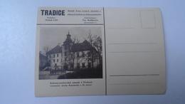 D166506   Czechoslovakia - Postcard - TREBON -Castle - Ca 1930's - Briefe U. Dokumente