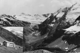 """5071 """"RIFUGIO M. BEZZI M.2285-GHIACCIAIO GLAIRETTE-SULLO SFONDO ALTA VAL GRISANCHE"""" CART. ORIG. SPED.1968 - Non Classificati"""