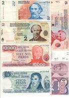 Argentina Lot 11 Banknotes - Argentina