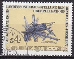 Austria/1986 - Burgenland Mineral & Fossil Exhib./Burgenländische Sonderausstellung Oberpullendorf - 4 S - USED - 1981-90 Gebraucht