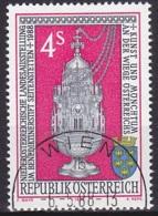 Austria/1988 - Art & Monastic Life Exhib./Landesausstellung Kunst Und Münchtum - 4 S - USED - 1981-90 Gebraucht