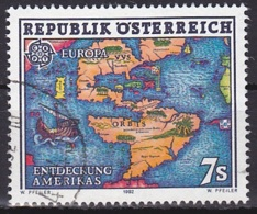Austria/1992 - Europa CEPT - 7 S - USED - 1945-.... 2. Republik