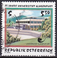 Austria/1995 - Klagenfurt University/Universität Klagenfurt - 5.50 S - USED - 1945-.... 2. Republik