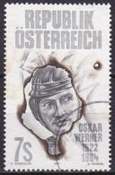 Austria/1997 - Oskar Werner - 7 S - USED - 1945-.... 2. Republik