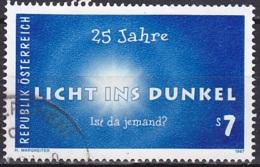 Austria/1997 - Light In Darkness/Licht I. Dunkel - 7 S - USED - 1945-.... 2. Republik
