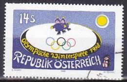 Austria/1998 - Winter Olympic Games/Olympische Winterspiele Nagano - 14 S - USED - 1945-.... 2. Republik