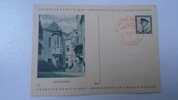 D166507   Czechoslovakia -Entier  Postal Stationery - Ganzsache - Kutna Hora -autoposta  1937 - Tschechoslowakei/CSSR