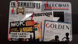 CINECARTE PATHE N° 74 ...IDG COMMUNICATION...800 EX  LUXE- NEUVE? - Francia