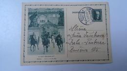 D166508 Czechoslovakia -Entier  Postal Stationery - Ganzsache - Bor U Cesky Lipy -Ceska Lipa   1932  IX.SLET Praha - Briefe U. Dokumente