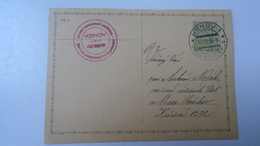 D166509 Czechoslovakia -Entier  Postal Stationery - Ganzsache - KRNOV- Jägerndorf - 1938 - Briefe U. Dokumente